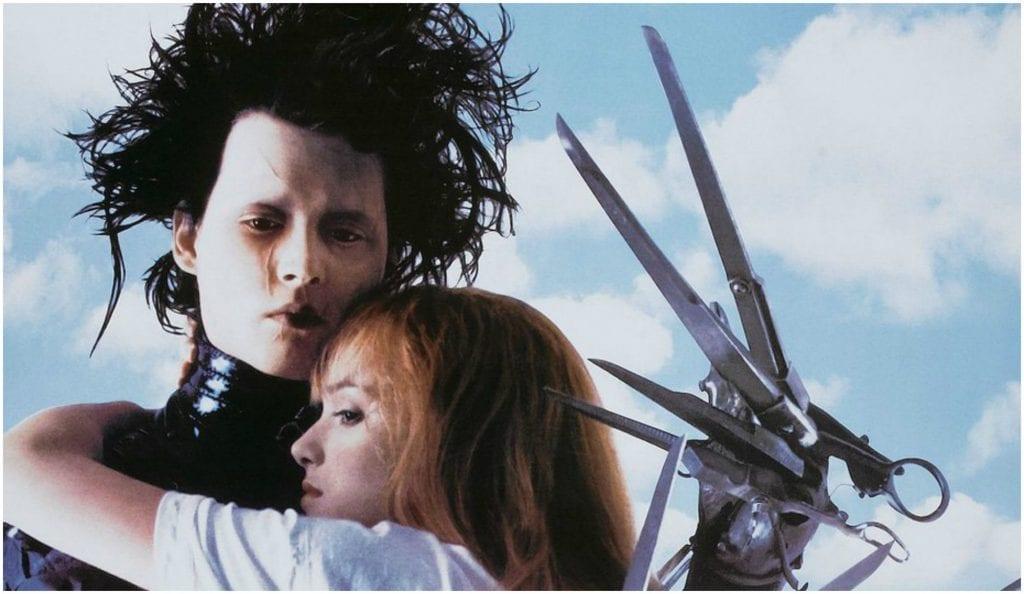 Ο Ψαλιδοχέρης μια ταινία του Tim Burton με πρωταγωνιστή τον Johny Depp