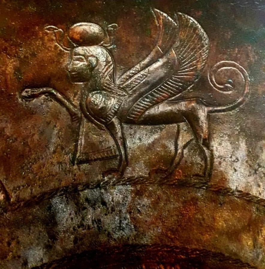 Αρχαία σφίγγα
