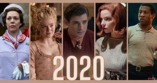 Κολάζ με 5 από τις καλύτερες σειρές 2020