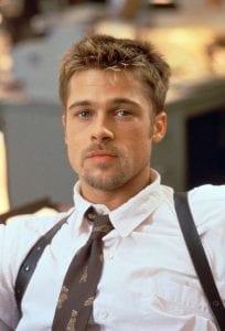 Σε εικόνα ο Brad Pitt από την ταινία se7en