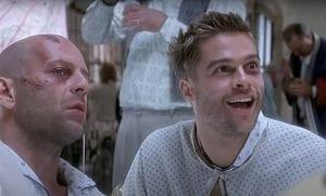 Ο Brad Pitt και ο Bruce Willis στους Δώδεκα Πίθηκους