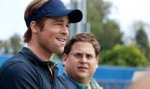 Ο Brad Pitt και ο Jonah Hill στην ταινία Moneyball