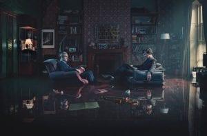 Σκηνή από το Sherlock, από τις καλύτερες ταινίες και σειρές στο Netflix για τα Χριστούγεννα