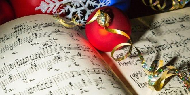 Εικόνα με χριστουγεννιάτικα τραγούδια