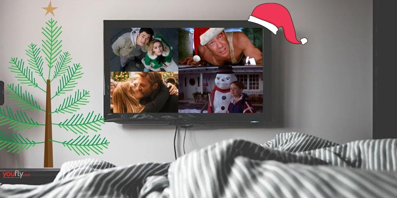 Τηλεόραση και κρεβάτι με χριστουγεννιάτικες ταινίες για όσους περάσουν τις γιορτές μόνοι