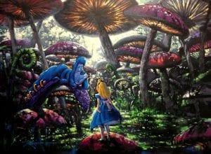 Πλάνο από την ταινία η Αλίκη στην χώρα των θαυμάτων
