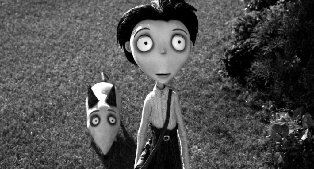 Το Frankenweenie είναι μια ταινία από τις κορυφαίες ταινίες του Tim Burton