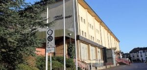 Το Halle Victor-Hugo που θα μεταβεί σε εμβολιασμούς