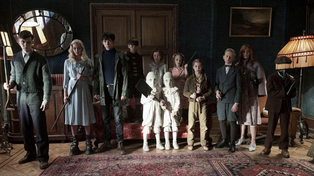 Σκηνή από την ταινία του Tim Burton Miss Peregrine's Home for Peculiar Children