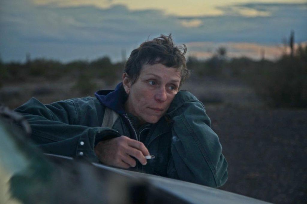 Σκηνή από το Nomadland μια από τις καλύτερες ταινίες του 2020