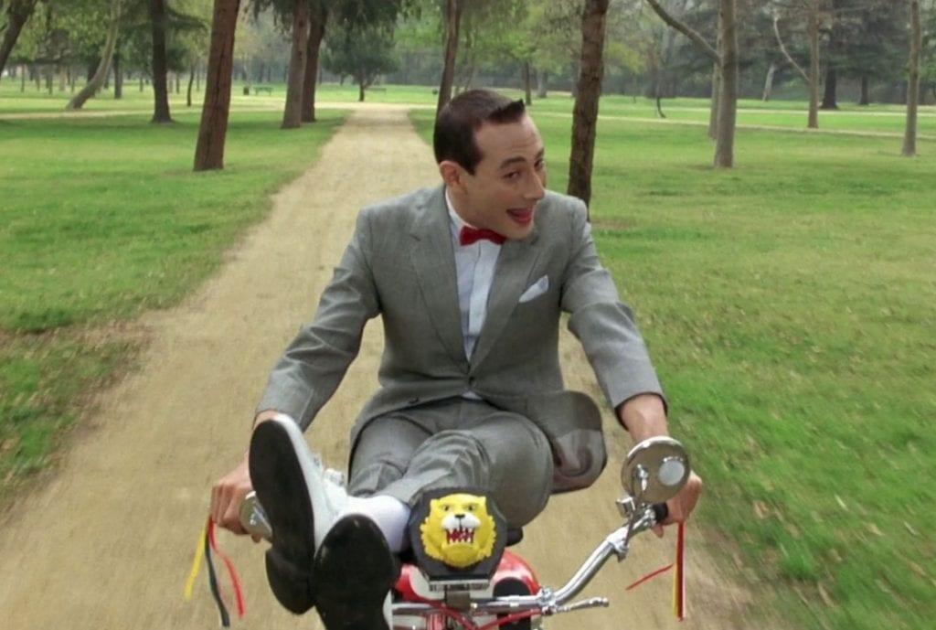 Σκηνή από την ταινία Pee-wee's Big Adventure