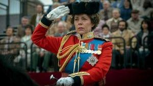 Εικόνα από τη Βασίλισσα Ελισάβετ στη σειρά του Netflix