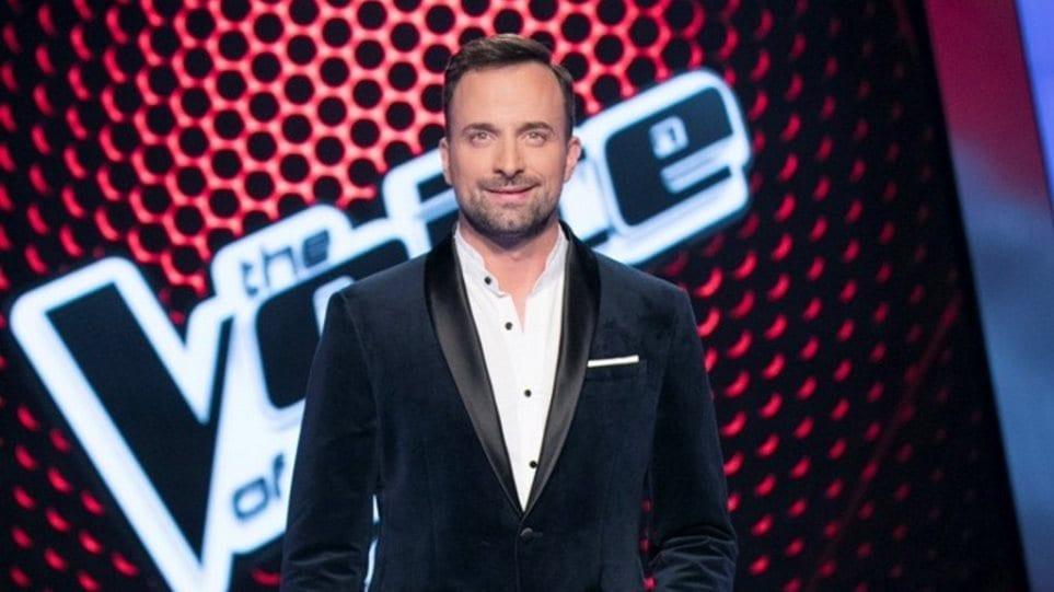 Γιώργος Λιανός και παρουσίαση των live του The Voice