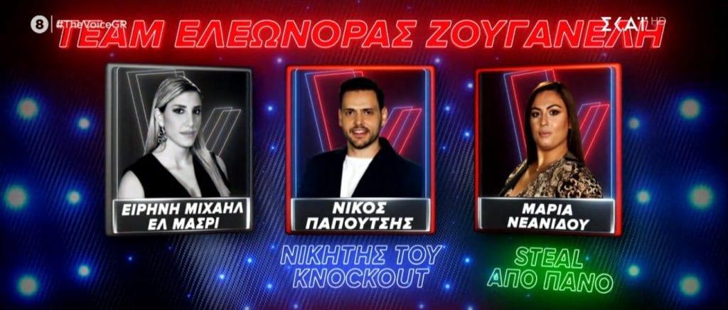 The Voice: Ποιοι πέρασαν από τα Knockouts στα Battles χθες 13/12