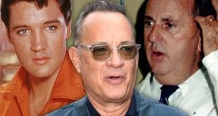 Κολλάζ του Tom Hanks και του Elvis Prisley