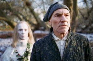 a christmas carol στιγμιότυπο μέσα από την ταινία με τον πρωταγωνιστή