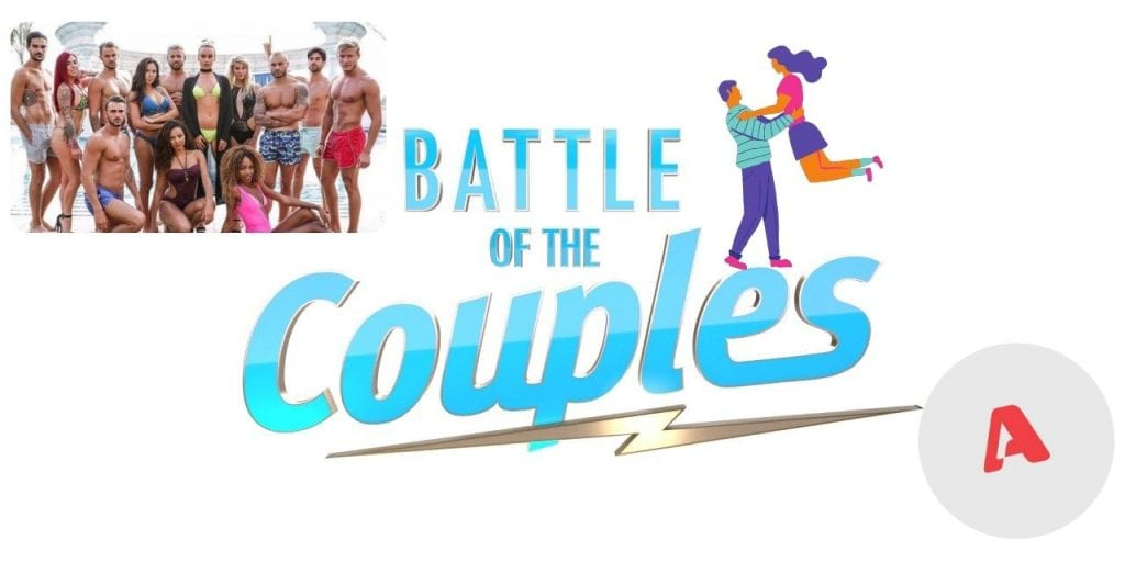 αφίσα από το νέο ριάλιτι στον alpha battle of the couples