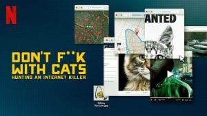 dont fuck with cats αφίσα από μια σειρά σε διαδικτυακή πλατφόρμα