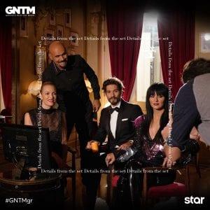Εικόνα από τους κριτές στο τελευταίο σετ του GNTM 3