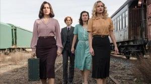 Cable Grils πρωταγωνίστριες σκηνή τρένου - ποια σειρά να ξεκινήσεις στο Netflix