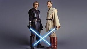 Σε εικόνα ο Anakin και ο Obi-Wan στο Star Wars