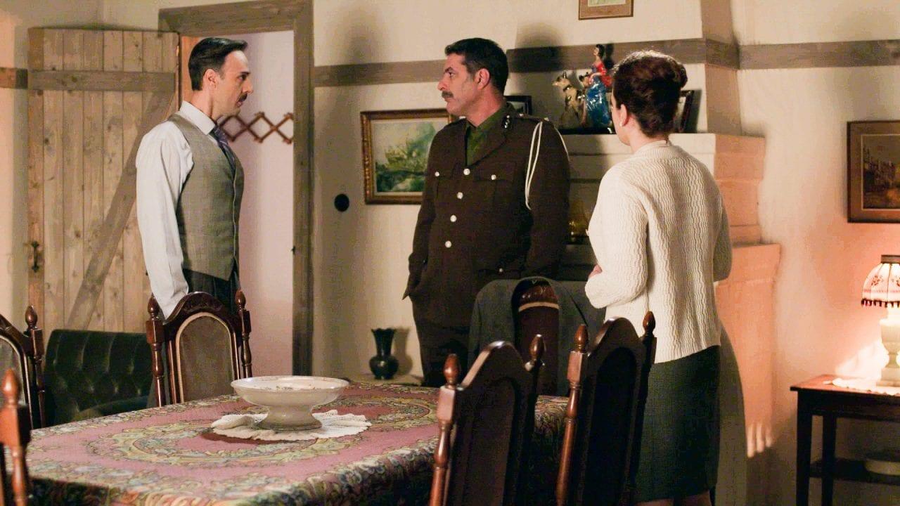 Ο Βόσκαρης με τους γονείς της σοφούλας