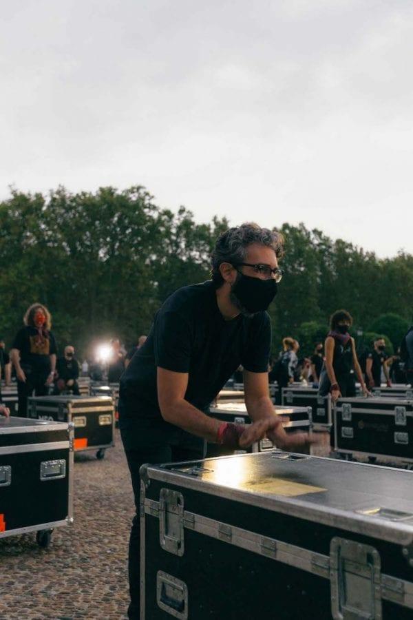 διαδηλωτες για τη μουσική βιομηχανία Ισπανία