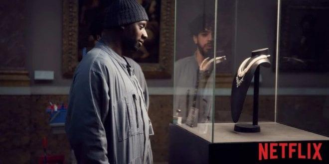 Στιγμιότυπο από τη σειρά Λουπέν στο Netflix