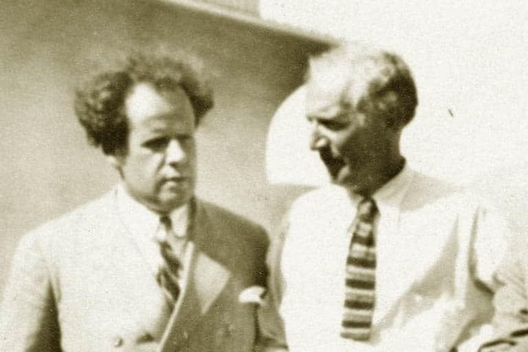 ο σκηνοθέτης Σέργκεϊ Αϊζενστάιν και Άπτον Σίνκλερ στο Μεξικό