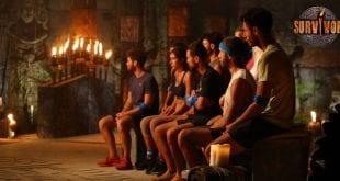 Συμβούλιο νησιού για την ανταλλαγή παικτών στο Survivor 17/1