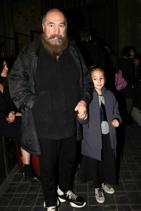 Ο Τζίμης Πανούσης με την κόρη του