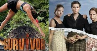 Τηλεθέαση 12/1: Ψηλά οι Ράδιο Αρβύλα - Πόλεμος για Μέλισσες & Survivor
