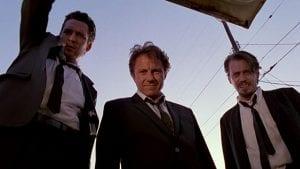Σκηνή από το Reservoir dogs, από τις ταινίες σαν τον Λουπέν