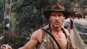 Στιγμιότυπο από το Indiana Jones, μία από τις πιο απολαυστικές ταινίες για hangover