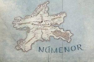 Χάρτης του Numenor