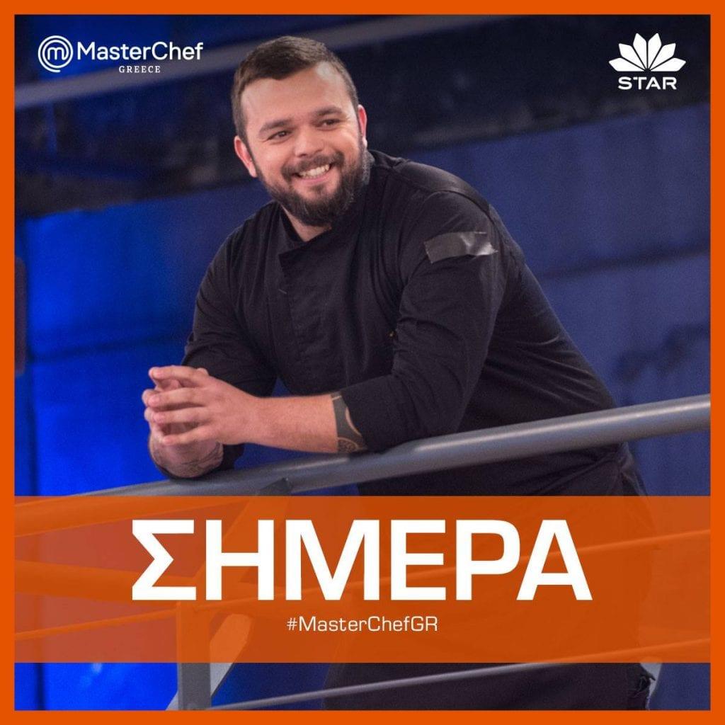 Ο σεφ, Νίκος Θωμάς, από τα πρόσωπα κλειδιά του Masterchef 5