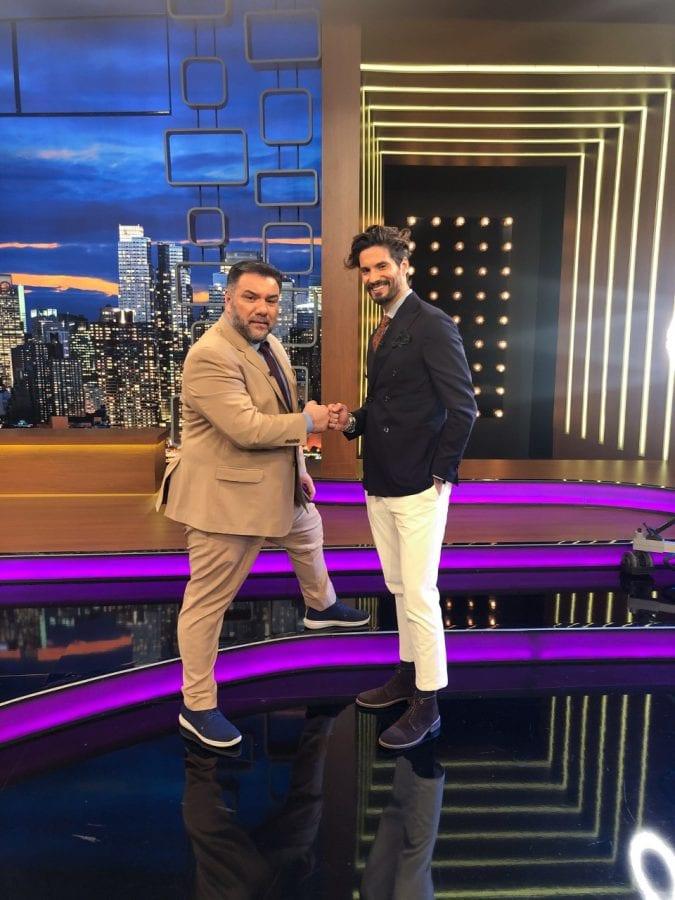 Ο Καράβας και ο Γρηγόρης στο 2night show