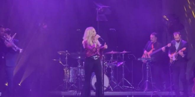 Άννα Βίσση: Βίντεο και φωτογραφίες από τη μεγάλη συναυλία στο Παλλάς
