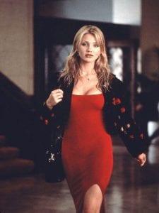 H Cameron Diaz φοράει ένα από τα καλύτερα κόκκινα φορέματα στον κινηματογράφο