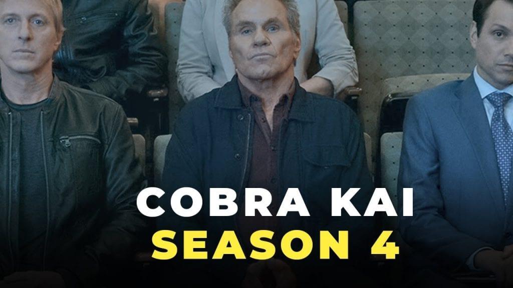 Cobra Kai πόστερ για τη σεζόν 4