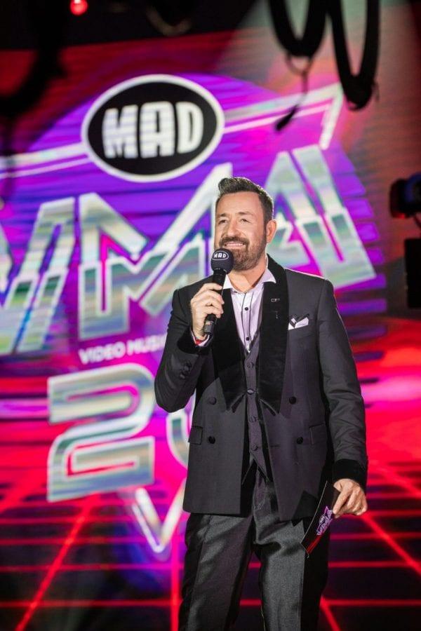 Ο Θεμης Γεωργαντας παρουσιαζει τα Mad VMA 2020 2 Ιανουαρίου MEGA