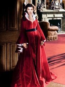 Η Vivien Leigh στο Όσα παίρνει ο άνεμος το 1939