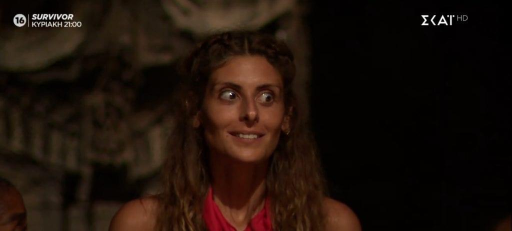 Survivor: Ανθή Σαλαγκούδη ψηφίστηκε πιο δημοφιλής παίκτρια για αυτή την εβδομάδα