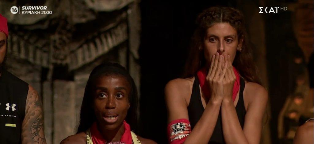 Survivor: Η Ανθή Σαλαγκούδη προτείνει την Ελίζαμπεθ Ελέτσι για αποχώρηση