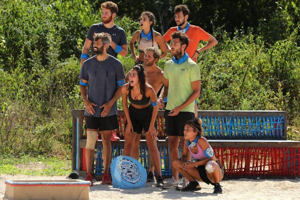 Survivor: Η μπλε ομάδα κέρδισε τον αγώνα ασυλίας χθες 19/1 με 10-6