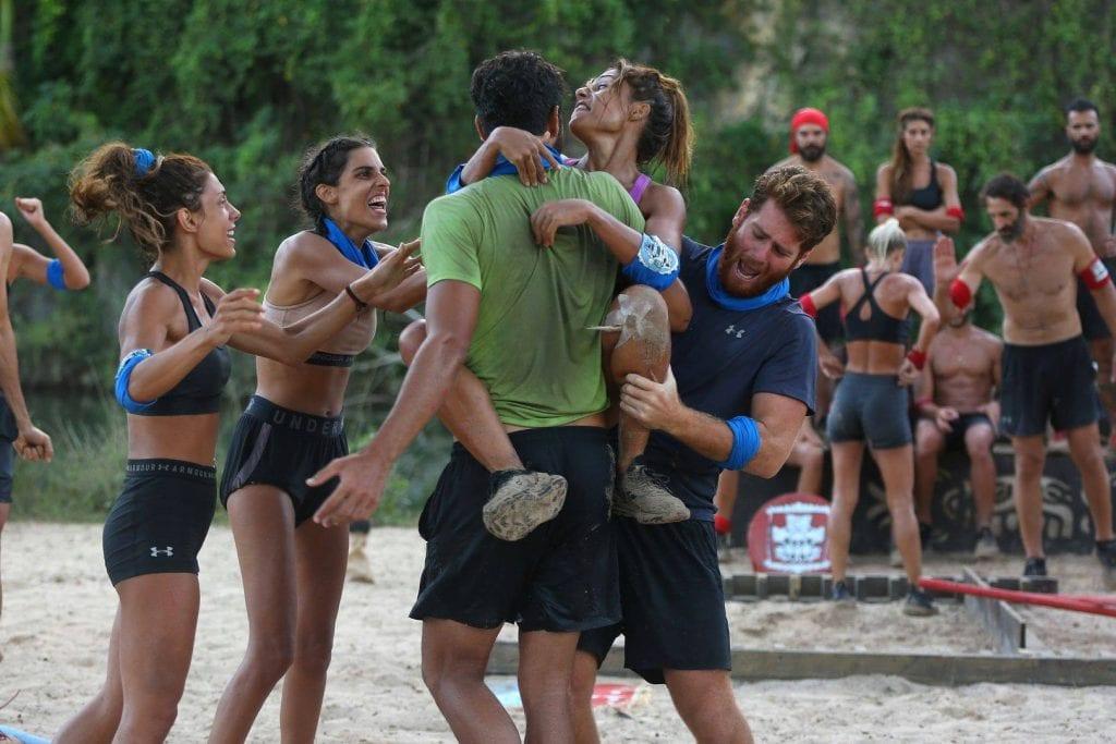 Survivor: Η μπλε ομάδα κέρδισε και πάλι τον αγώνα χθες 20/1