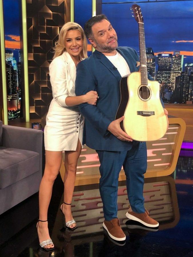 Η Ζοεζεφιν και ο Γρηγορης Αρναουτογλου στις 14/1 στο The 2Night Show