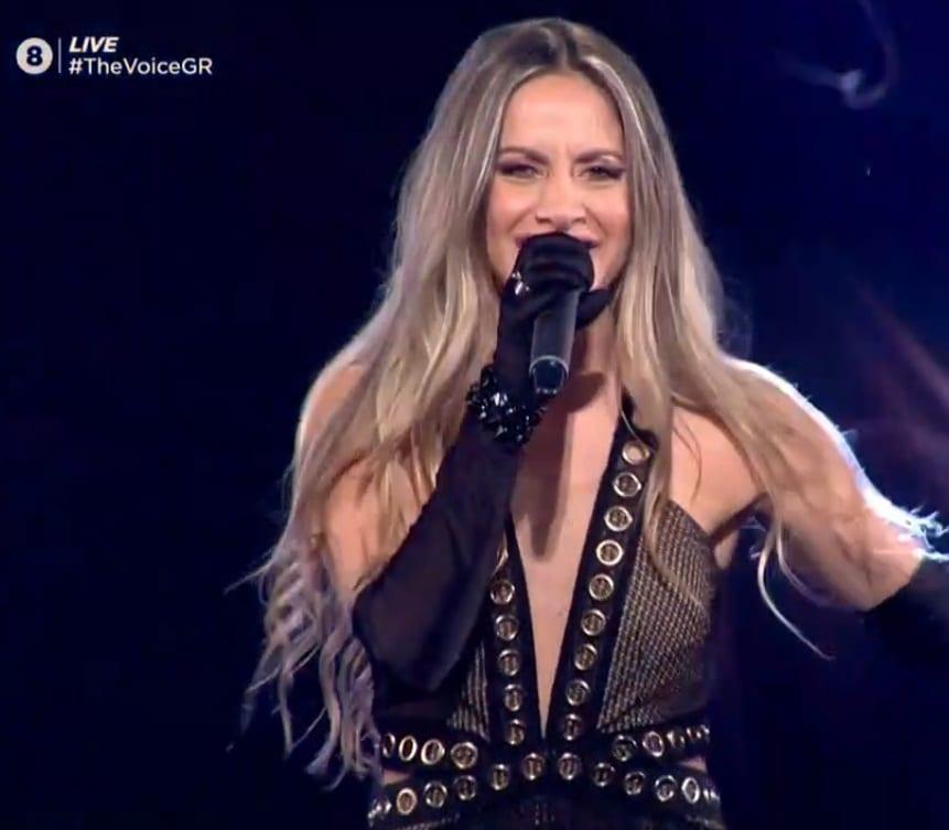 Η Λία Μίχου, μια από τους παίκτες που πέρασαν στον ημιτελικό του The Voice