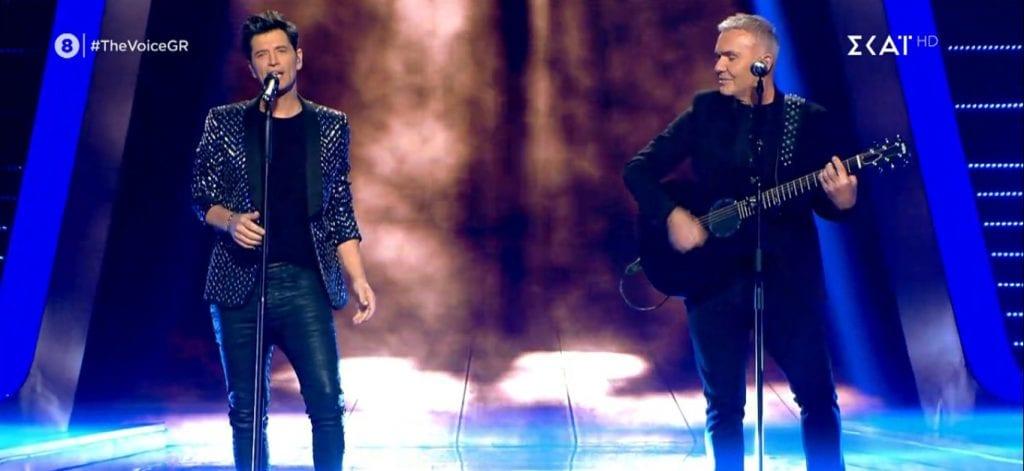 The Voice Σάκης Ρουβάς-Στέλιος Ρόκκος
