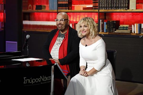 Γιαννης Ζουγανέλης και Ελεονωρα Ζουγανέλη στο The Voice of Greece knockouts